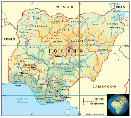 Geography in Nigeria