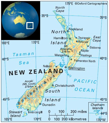 the geography of new zealand essay Eradication of introduced animals from the islands of new zealand  develop  significant geographic variation within the same land mass, and geographic  barriers may eventually come to divide  essays on knowledge andjustification.