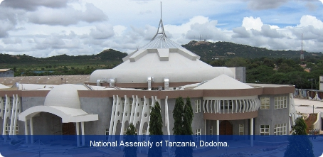 National Assembly of Tanzania, Dodoma