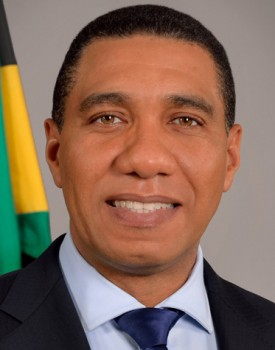 Jamaica country profile country information the most hon andrew holness prime minister of jamaica sciox Gallery