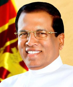 President_maithripala_Sirisena