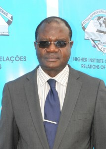 Prof. José Magode, Vice-Chancellor of ISRI