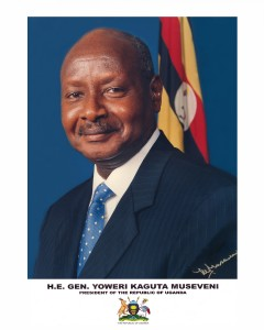 H.E. Gen. Yoweri, Kaguta Museveni, President of the Republic of Uganda