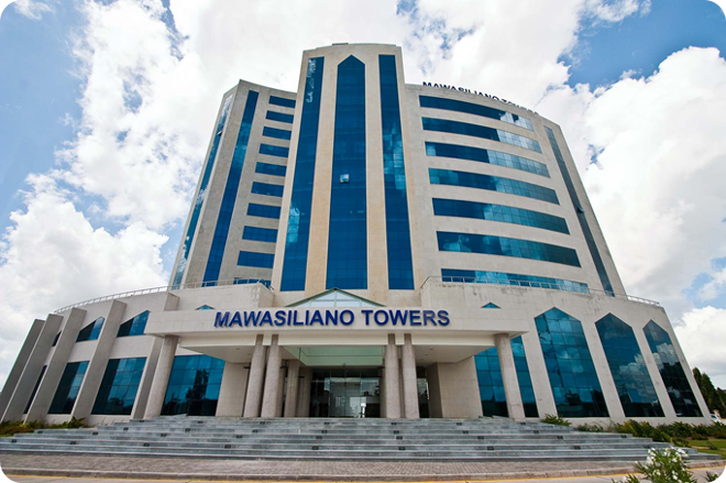 Tanzania Communication Regulatory Authority Building – Mawasiliano Towers – Dar Es Salaam