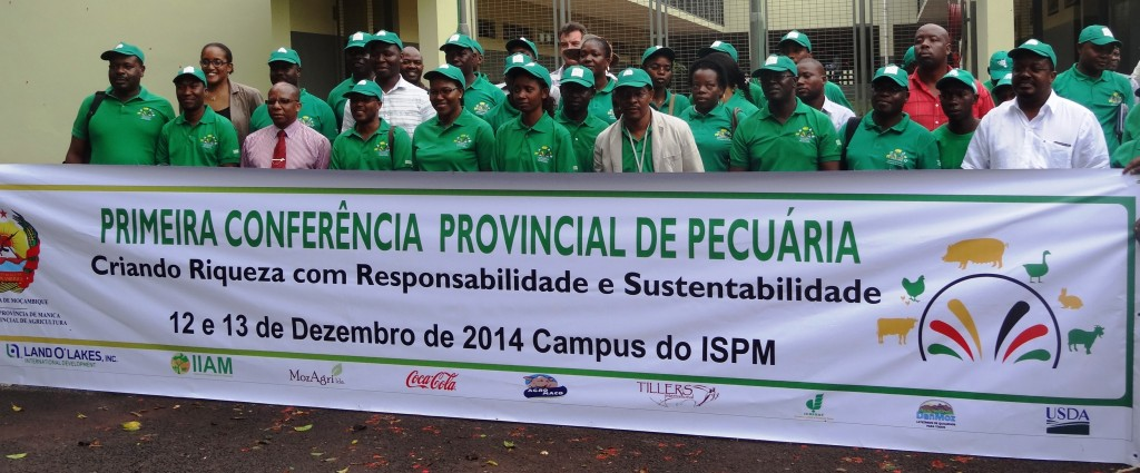 Participants in the 1st Provincial Animal Husbandry conference, held on ISPM's campus