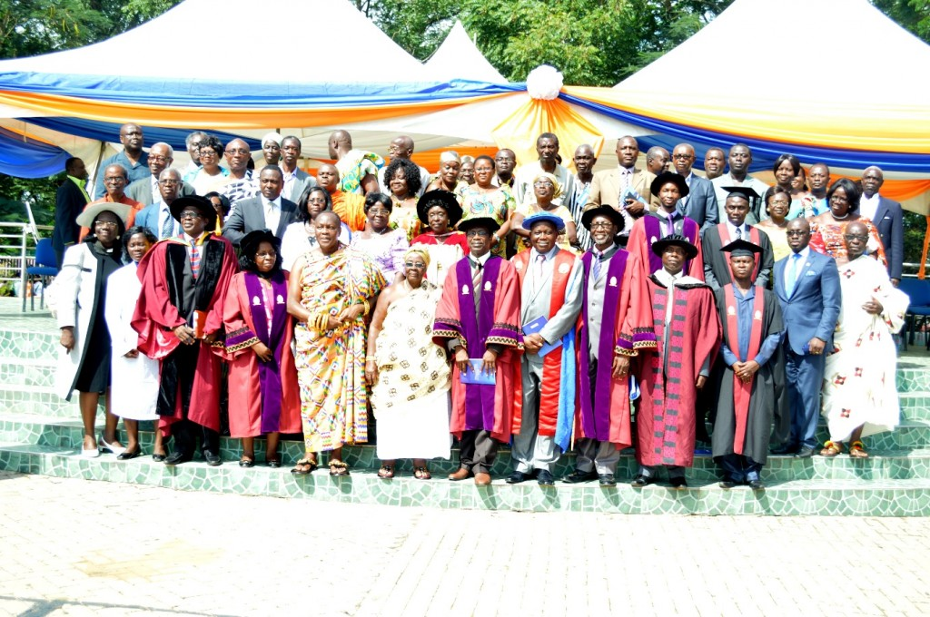 Dignitaries at the second graduation ceremony
