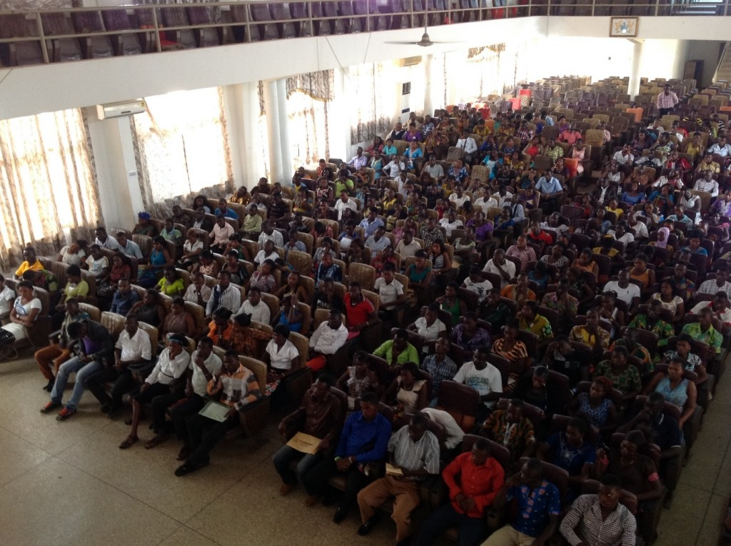 Orientation of new students