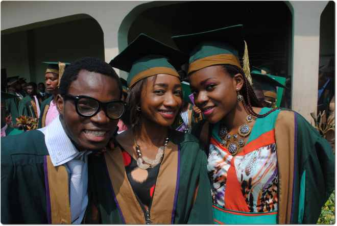 Achievers University Owo holds 7th matriculation ceremony for the new 2013/2014 undergraduate students