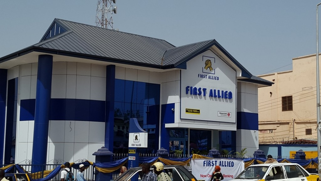 One of the new branches in Tamale in Northern Ghana