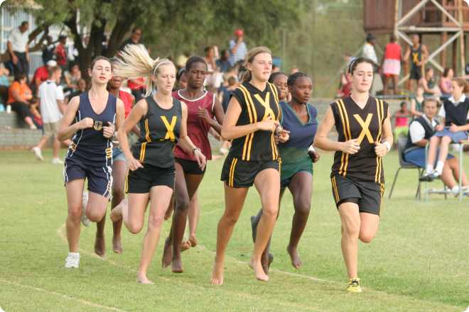 Althletics at Benoni High School