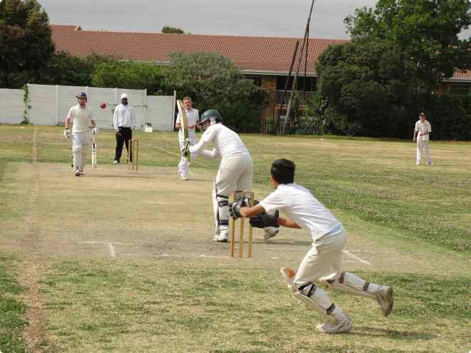 cricket at Benoni High School