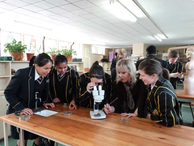 Benoni High School - In the classroom