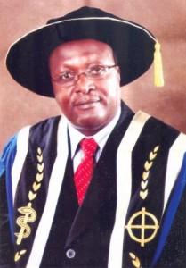 •Chancellor Prof. Peter N. Mugyenyi