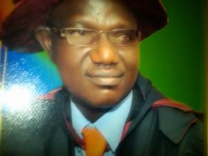 Mr Olayiwola Adeosun, Rector