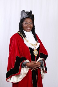 Her Worship the Mayor of Kingston Senator, Councillor Dr Angela Brown Burke, J.P.