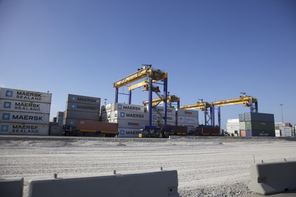 Containers for the Namport