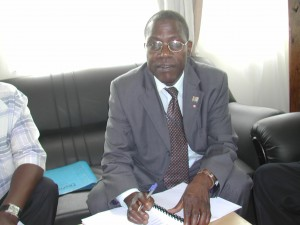 Dr Deogratias K. Sekimpi, Ag Executive Director