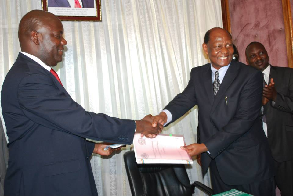 COI CEO and VC Moi University